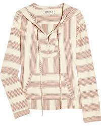 Textile Elizabeth and James Baja Popover Cotton Jacket - Lyst