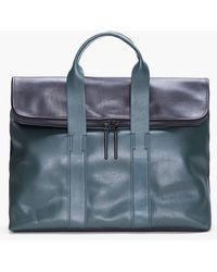 3.1 Phillip Lim Green Combo Leather 31 Hour Bag - Lyst