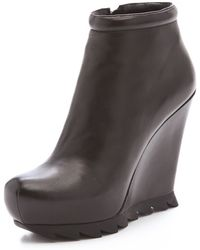 Camilla Skovgaard | Wedge Saw Sole Booties | Lyst