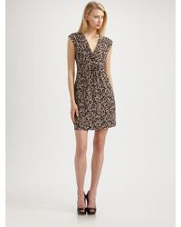 Laundry by Shelli Segal Printed Dress - Lyst