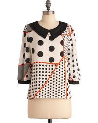 ModCloth Lots Of Options Top - Lyst