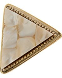 River Island Triangle Statement Ring - Lyst