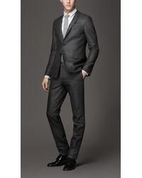 Burberry Modern Fit Virgin Wool Suit - Lyst