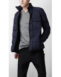 Burberry Sport Lightweight Quilted Jacket - Blue