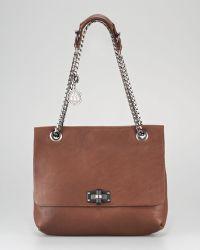 Lanvin Happy Shoulder Bag Medium brown - Lyst