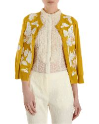 L'Wren Scott - Embroidered Cardigan - Lyst