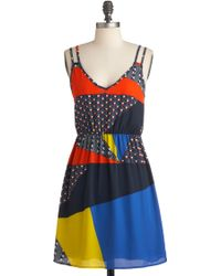 ModCloth Count Me Indie Dress - Lyst