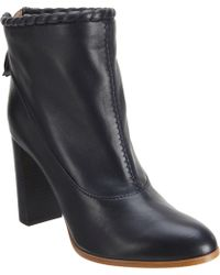 Nina Ricci | Whipstitch Trim Ankle Boot | Lyst