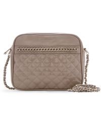 Mango Chain Quilted Shoulder Bag - Lyst