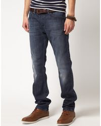 Diesel Darron 801z Regular Slim Jeans - Lyst