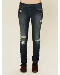 Free People Mid Rise Stove Pipe Jean - Lyst