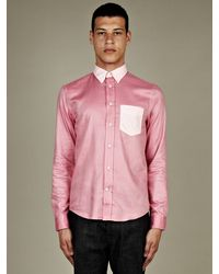 Acne Studios  Isherwood Pox Shirt - Lyst