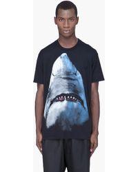 Givenchy Shark Print T-Shirt - Lyst