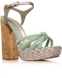 KG by Kurt Geiger Platform Sandals - Lyst