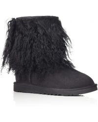 Ugg Sheepskin Cuff Boot - Lyst