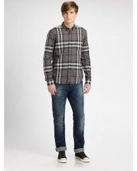 Burberry Brit Woven Check Shirt - Lyst