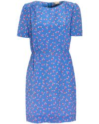 Boutique by Jaeger - Saphia Cherry Print Dress - Lyst