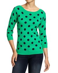 Old Navy Boatneck Sweaters - Lyst