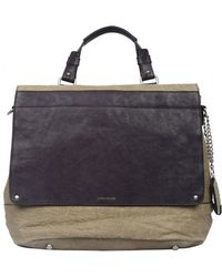 Olivia Harris - Textured Leather Shoulder Bag - Lyst