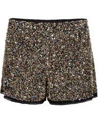AllSaints Elissa Shorts black - Lyst