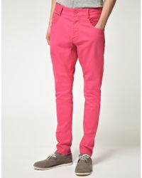 Unconditional - Exclusive Back Zip Skinny Jeans - Lyst