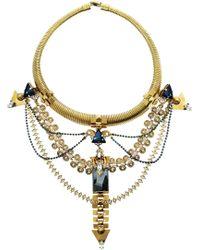 Erickson Beamon Alchemy Gold-Plated Swarovski Crystal Necklace multicolor - Lyst