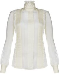McQ by Alexander McQueen Victoriana Blouse - Lyst
