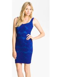 Free People Stretch Lace Tank Dress - Lyst
