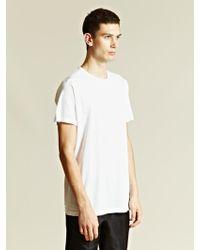 Sunspel Sunspel Mens Crew Neck T-shirt - Lyst