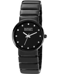 Badgley Mischka | Crystal Marker Bracelet Watch | Lyst