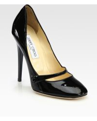 Jimmy Choo Taffy Patent Leather Pumps - Lyst
