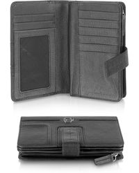 Piquadro Vibe - Leather Flap Wallet - Lyst