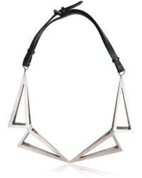 Persephoni - Geometric Necklace - Lyst