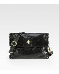 Tory Burch City Foldover Messenger - Lyst