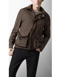 Burberry Sport Lightweight Packaway Cagoule - Brown