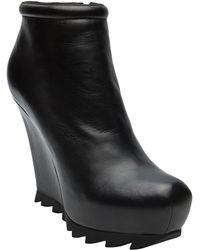 Camilla Skovgaard Ankle Wedge Boot black - Lyst