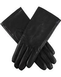 Dents Ladies Leather Glove with Fleece Lining - Lyst