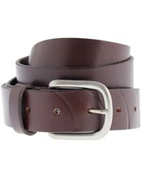 J.Crew Classic Buckle Belt brown - Lyst