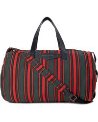 Marc By Marc Jacobs - Striped Canvas Holdall Bag - Lyst
