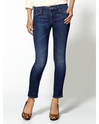 Mother The Cropped Looker Jeans - Lyst