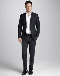 Dolce & Gabbana Martini Stretchwool Suit Black - Lyst