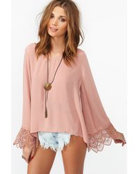 Nasty Gal Belladonna Crochet Top - Lyst
