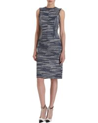 Derek Lam Sleeveless Tweed Dress - Lyst