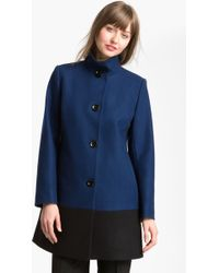 Michael by Michael Kors Colorblock Coat - Lyst