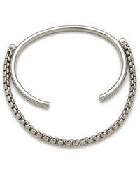 Cheap Monday - Elongate Bracelet - Lyst