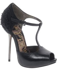 Sam Edelman Scarlett Studded T Bar Shoes - Lyst
