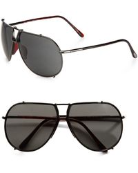 Tom Ford Metal Aviator Sunglasses - Lyst
