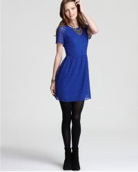 Free People Lace Dress Candy - Lyst