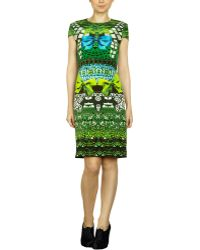 Mary Katrantzou Cake A Flake Dress - Lyst