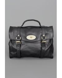 Mulberry Oversized Alexa Bag Black - Lyst